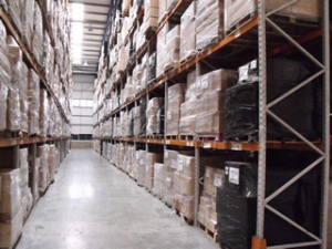Pallet racking for warehouse storage and logistics companies